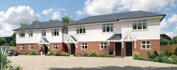 Rosemary road five house approval planning consultants Poole