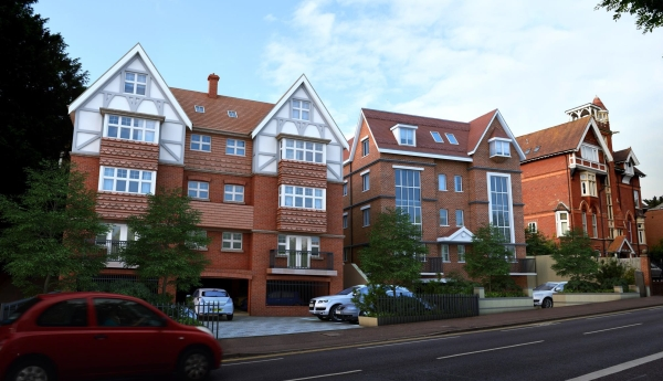 Christchurch Road flats approved planning consultant Bournemouth
