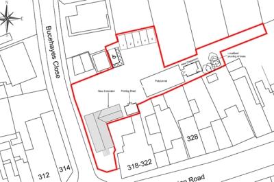 Lymington Road garden centre planning consultants Christchurch