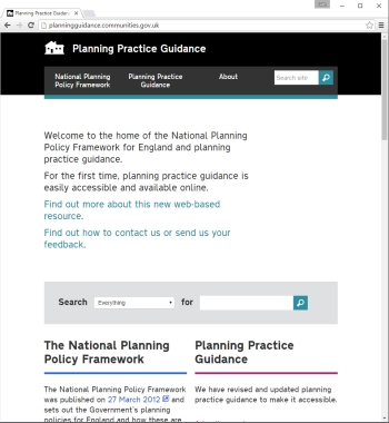 Planning Practice Guidance