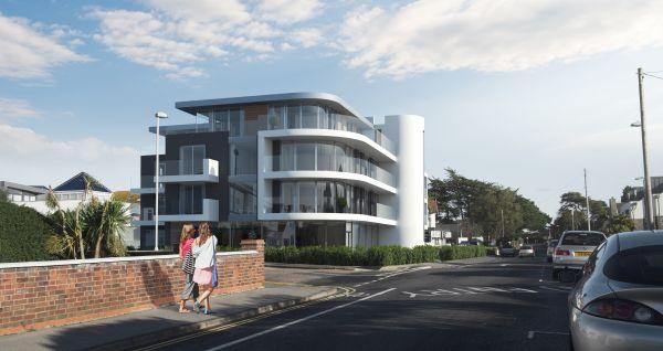 Panorama Road Sandbanks planning consultants Poole