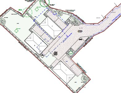Approved three houses upton planning consultants Bournemouth