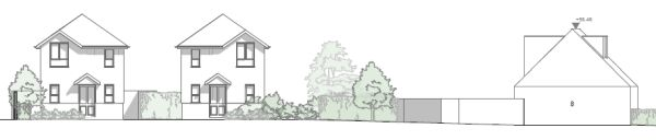 Approved three houses upton planning consultants Dorset