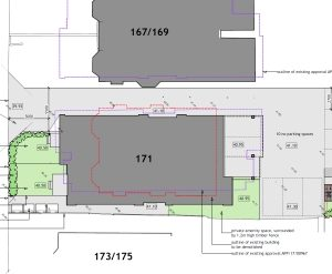 Approved: erection of three-storey block of 10 flats in Bournemouth Road, Poole