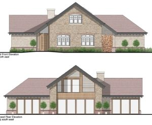Approved: detached dwelling in Fontmell Magna Conservation Area, Shaftesbury