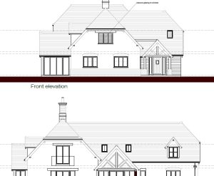 Approved: alterations and extensions to chalet bungalow in West Moors, Dorset