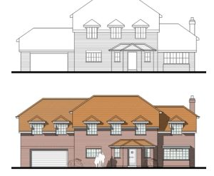 Approved: extensions to house in Brockenhurst, Hampshire