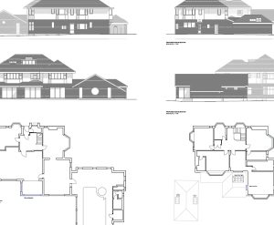 Approved: alterations and extensions to house in Bournemouth conservation area
