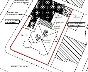 Approved: conversion of HMO to 6 flats in Charminster, Bournemouth