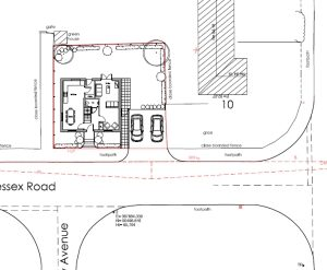 Approved: new detached house in Dorchester
