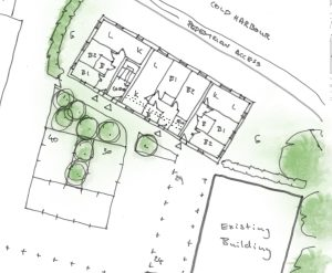 Approved: Permission in Principle for 9 flats in Sherborne, Dorset