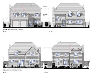 Approved: two detached houses in Broad Chalke, Wiltshire
