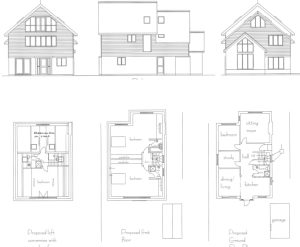 Won on appeal: remodel and extension of house in Lower Parkstone, Poole