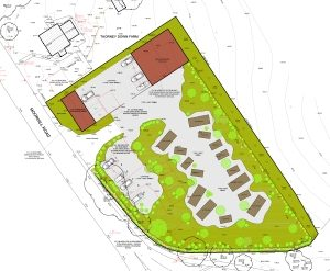 Won on appeal: development of caravan sales site near Southampton