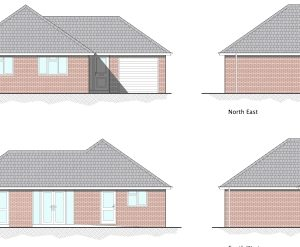 Approved: Plot split with new detached bungalow in Ringwood, Hampshire