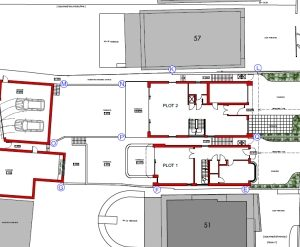 Won on appeal: plot split with two houses in Canford Cliffs, Poole