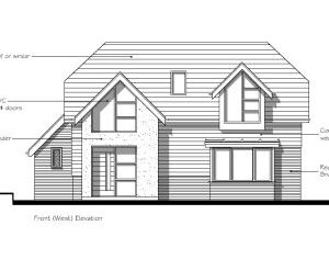 Approved: new house on subdivided garden in Purbeck