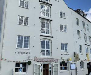 Approved: retrospective consent for painting a listed building in Poole