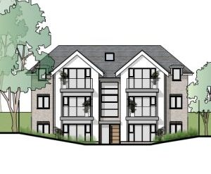 Won on appeal: seven flat scheme on Preston Road, Weymouth