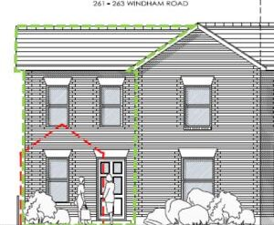 Won on appeal: two storey side extension to house in Springbourne