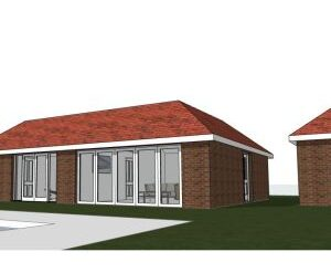 Approved: Erection of annexe and swimming pool in East Stoke, Wareham