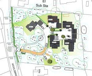 Approved: five detached houses at St Ives, Dorset