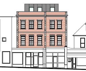 Approved: rooftop extension to form new penthouse flat in Southbourne