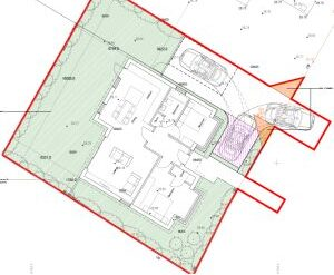 Approved: new detached bungalow on back garden site near Canford Magna