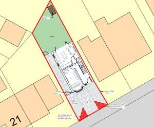Approved: plot split to form detached house in Christchurch