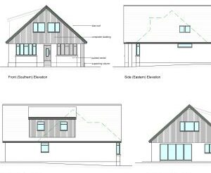 Approved: major extension to house in Upton, Dorset
